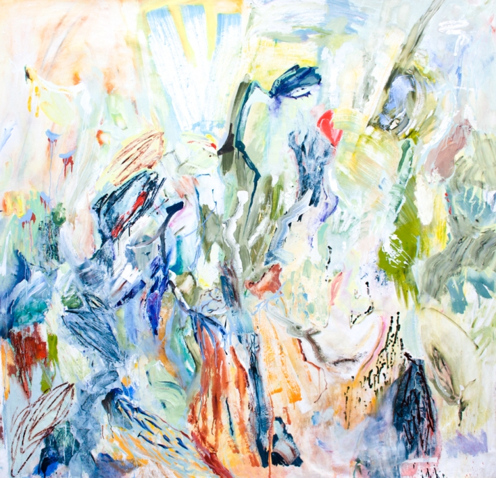Here Comes the Sun 200cm x 200cm oil on canvas 2015