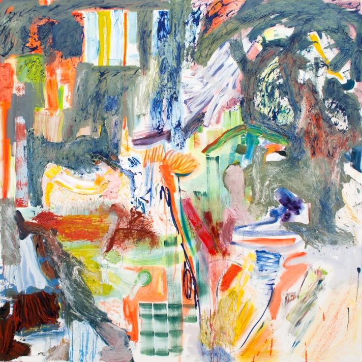 A Matter of Taste 200cm x 200cm oil on canvas 2015